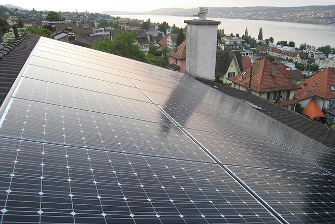 Wärmepumpe, Photovoltaik und Batterie