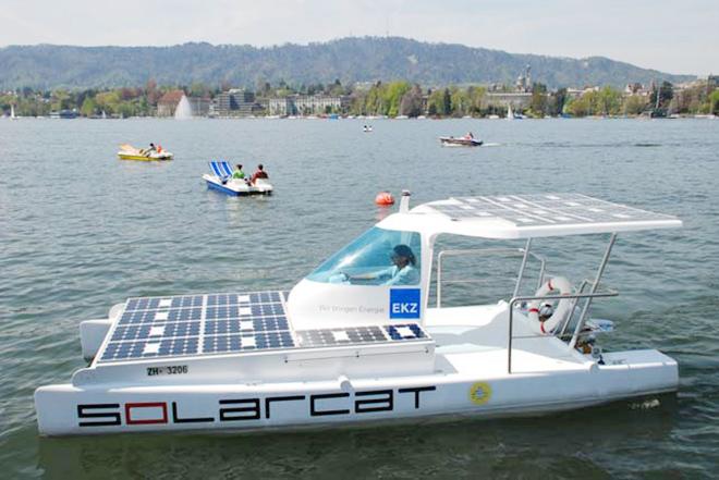 Solarcat – E-Mobilität zu Wasser